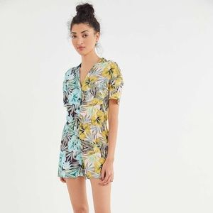 Urban Outfitters Tropical Romper